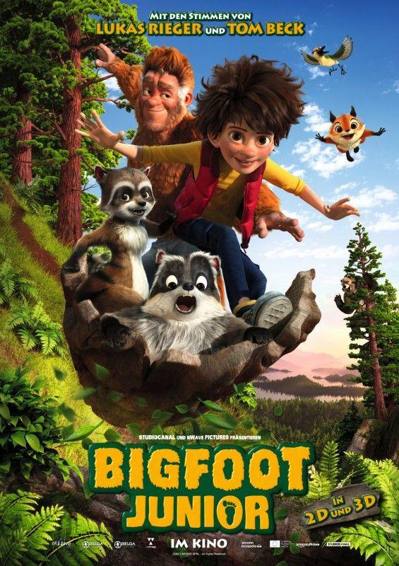 """Regisseur Ben Stassen und Jérémie Degruson erzählen eine Vater-Sohn-Geschichte zwischen dem behaarten Legendenwesen Bigfoot und dessen Sohn """"Bigfoot Junior""""."""