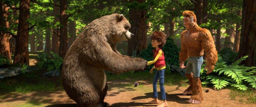 Bär Wilbur und Adam werden Freunde.