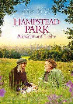 """Scheinbar wohlhabende Witwe und Obdachloser mit gemütlicher Hütte, beide in fortgeschrittenem Alter, verlieben sich im """"Hampstead Park""""."""