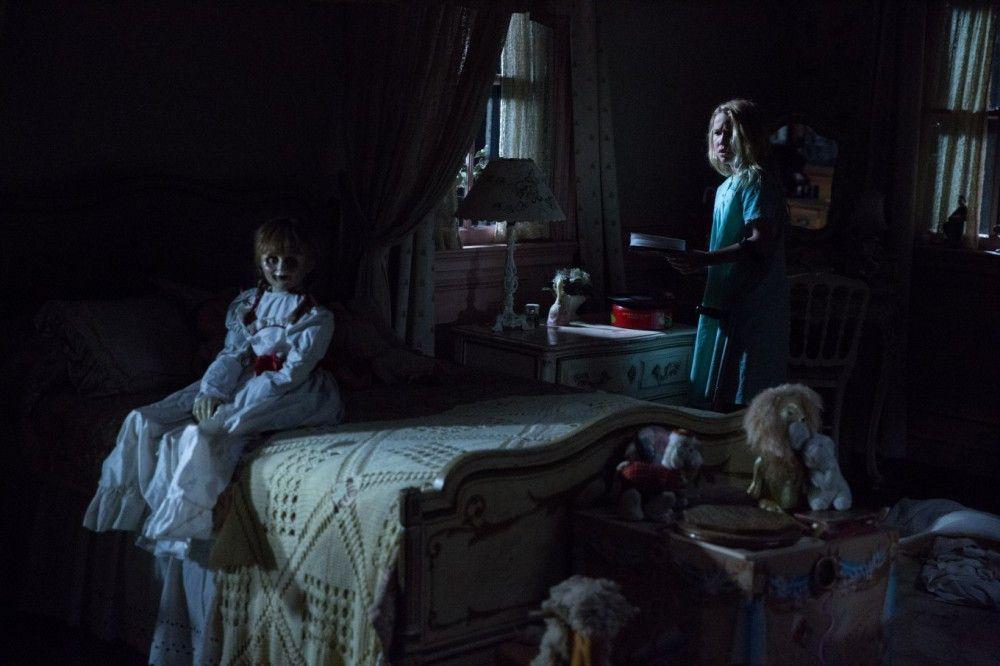 """Spätestens seit """"Chucky - Die Mörderpuppe"""" (1988) sind Puppen wie Annabelle Horrorfilmmaterial."""