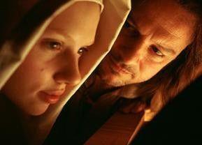 Sei mein Modell! Peter Firth und Scarlett Johansson