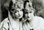 Haben wir uns nicht zu hübschen Mädels entwickelt? Lilian (l.) und Dorothy Gish