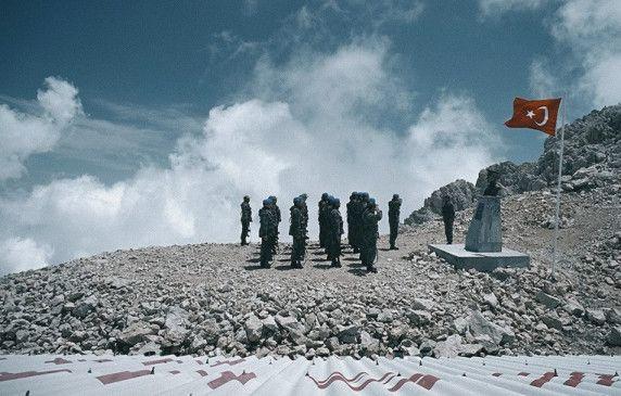 Karg und einsam: die Einheit auf ihrem Berg