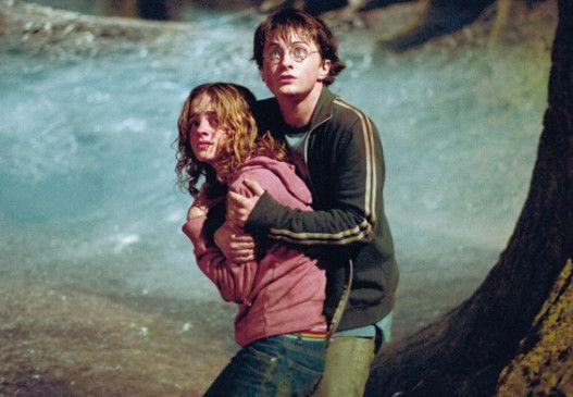 Angst und Bange: Harry und Hermine (Daniel Radcliffe und Emma Watson)