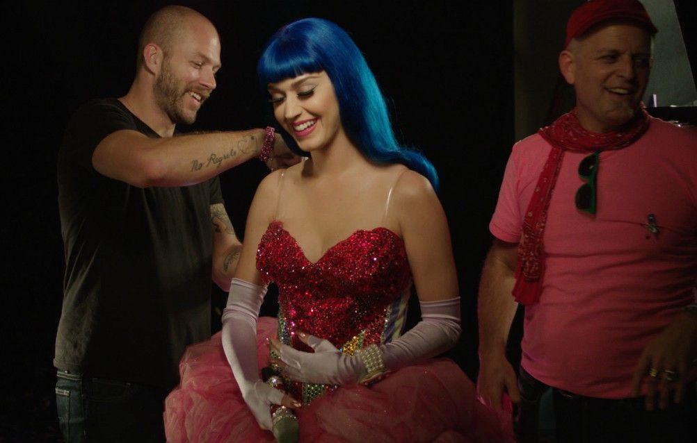 Hinter den Kulissen: Katy Perry bei der Vorbereitung für ihren Auftritt