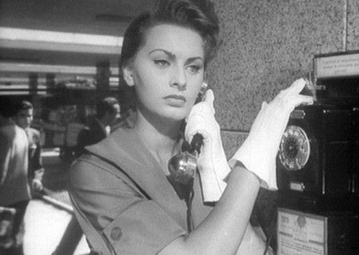 Ines (Sophia Loren) will ihren ehemaligen Liebhaber erschiessen