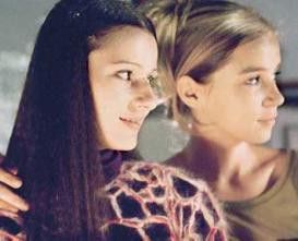 Wir haben doch beide ein schönes Profil! Annett Renneberg und Alexandra Schalaudek (v.l.)
