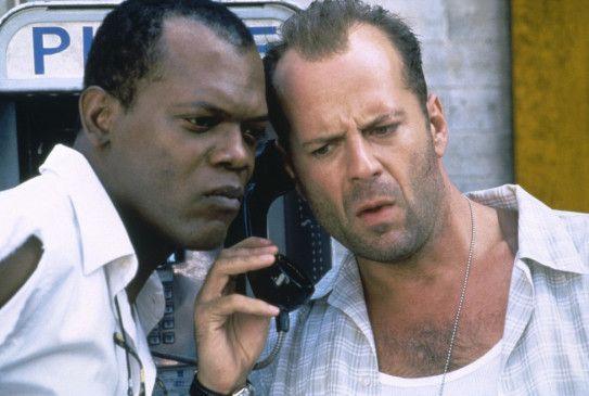 Jetzt sag mir endlich, wo die Bombe tickt! Samuel L. Jackson (l.) und Bruce Willis