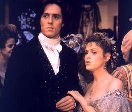 Kommt da dein Kumpel Liszt? Bernadette Peters  smalltalkt mit Hugh Grant