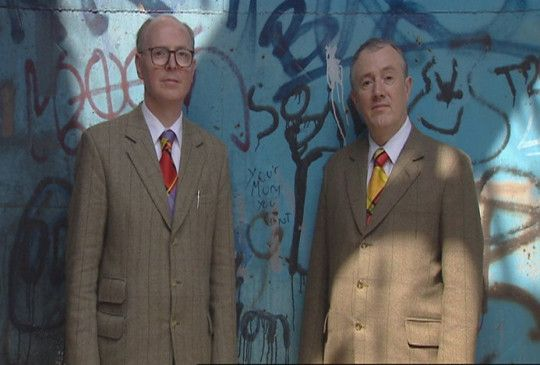 Skurriles Künstlerpaar: George Passmore und Gilbert Proesch