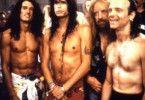 """Geben ein fast unbekleidetes Gastspiel: die Rocker  von """"Aerosmith"""""""