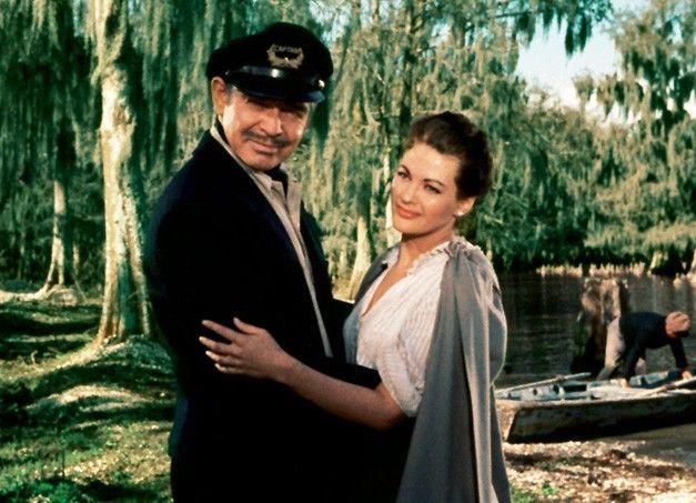 Vergnügen im heißen Süden? Clark Gable und Yvonne De Carlo