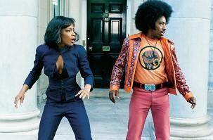 Wo ist mein Cadillac? Eddie Griffin mit Aunajanue Ellis als Sistah Girl