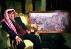 Erinnert sich: der jordanische Offizier Avrad