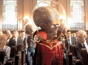 Ich bin nicht nur ein Außerirdischer, sondern auch  ausgesprochen  fies!