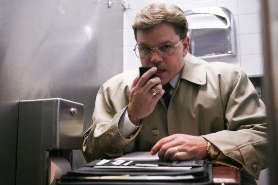Kommt sich vor wie ein Geheimagent: Matt Damon