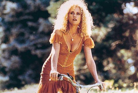 """Das ist aber ein schönes Fahrrad! Melanie Griffith  als """"V"""""""