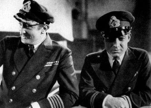 Ertmals gemeinsam vor der Kamera: Hans Albers (l.) und Heinz Rühmann