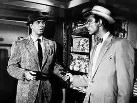 Ich wollte doch nur Zigaretten kaufen! John Payne  (l.) und Lee Van Cleef