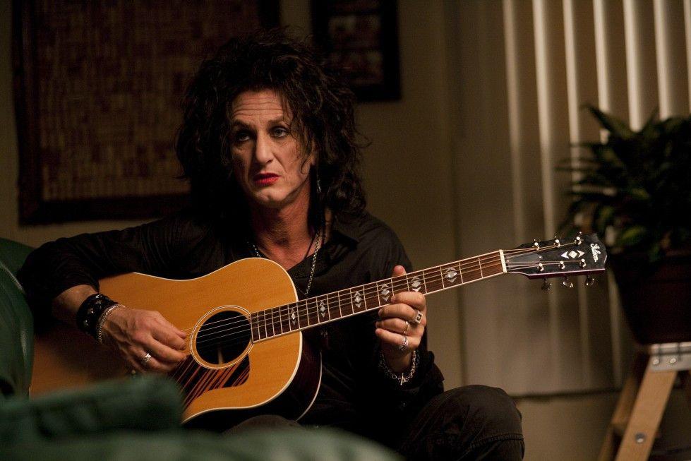 Klampft verkrampft: Sean Penn