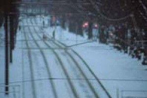 Winterliches Stillleben aus den letzten Tagen der DDR
