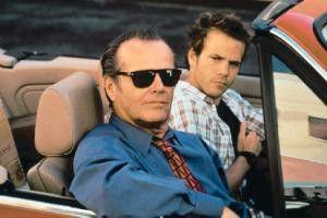 Da hinten das Auto gefällt mir besser! Jack  Nicholson (v.) und Stephen Dorff