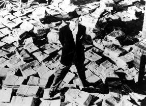 Nun steh' ich da, ich armer Thor! Orson Welles als  Zeitungsmagnat Kane/Hearst