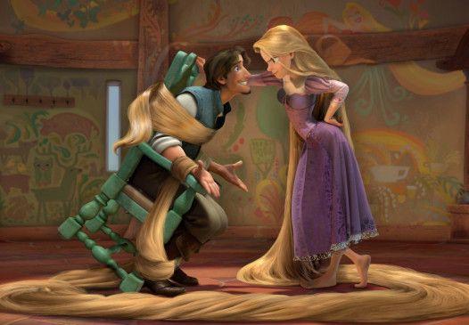 An den Haaren herbeigezogen: Dieb Flynn und Rapunzel