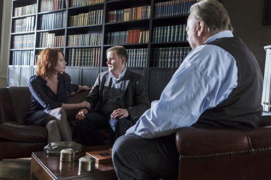 Ein schwieriger Fall: Bloch (Dieter Pfaff, r.) will Jens (Devid Striesow) und Andrea (Birgit Minichmayr) therapieren