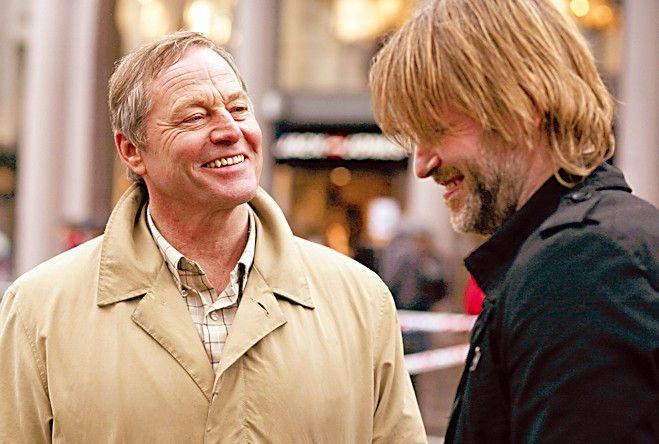 Noch amüsieren sie sich: Trond Espen Seim (r.) und Bjørn Floberg