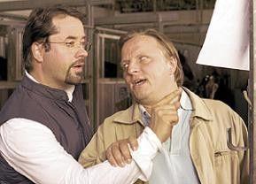 Ich sag dir noch mal, das ist der Täter! Axel Prahl (r.) und Jan Josef Liefers