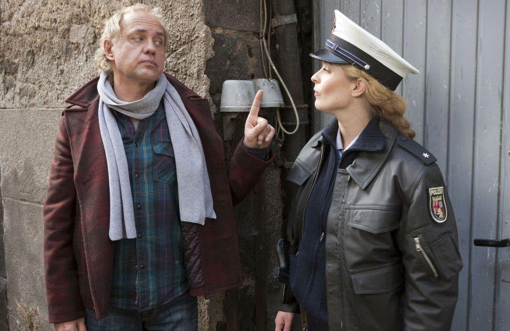 Kati (Diana Amft) und Killmer (Uwe Ochsenknecht) sind sich ausnahmsweise einmal einig