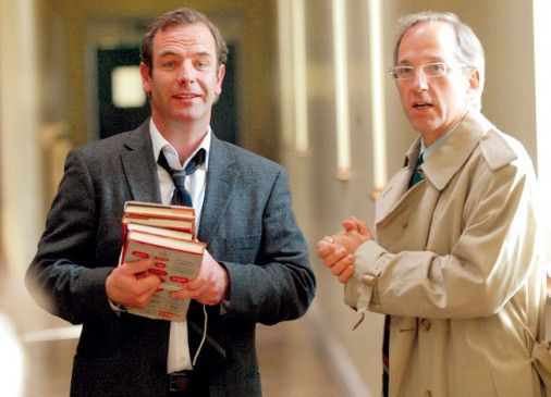 Tony Hill (Robson Green, l.) und sein alter Freund und Kollege Jonathan Goode (Michael Maloney)