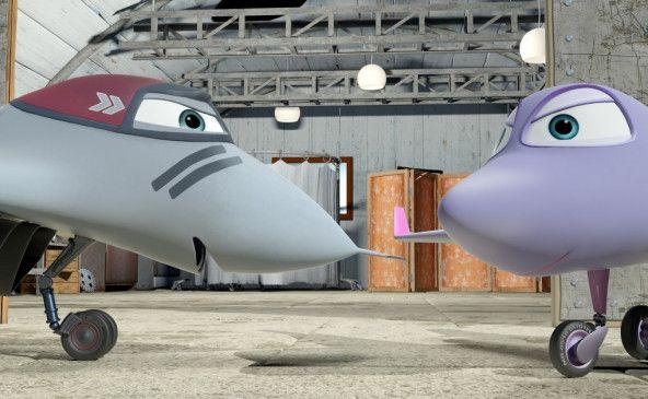 Flugzeuge unter sich