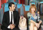 Zappa im Flieger? José María Yazpik und Cecilia Roth