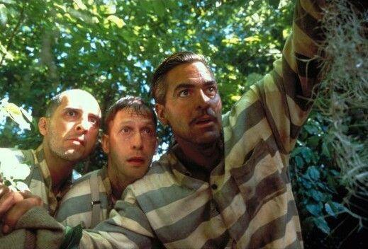 Huch, wo sind wir denn jetzt gelandet? John Turturro, Tim Blake Nelson, George Clooney (v.l.)