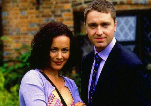 Ein hübsches Paar: Daniel Casey und Amanda Mealing