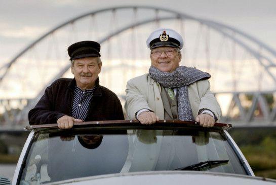 Ab in den Ruhestand: Wolfgang Winkler (l.) und Jaecki Schwarz