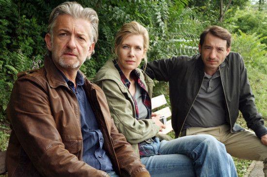Die Drogenszene fest im Visier: Dominic Raacke, Ina Weisse und Boris Aljinovic (v. l.)