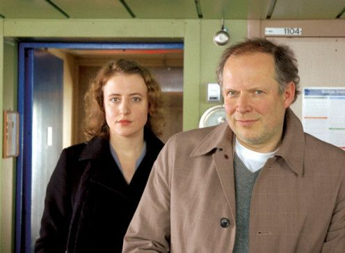 Bitte keine Fotografien mehr! Axel Milberg und Maren Eggert