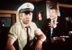 Ich habe nichts damit zu tun! Sobeck (Günter Ungeheuer) bestreitet den Verdacht von Polizeihauptmeister Rolfs (Klaus Löwitsch)