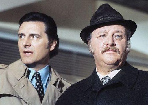 Er folgt jeder Spur: Gustl Bayrhammer (Foto mit Helmut Fischer) als Kriminaloberinspektor Melchior Veigl