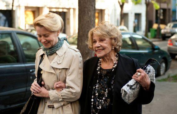 Freunden sich an: Laine Mägi (l.) und Jeanne Moreau