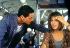 Tritt auf's Gas, den überfahren wir auch noch! Keanu Reeves und Sandra Bullock.