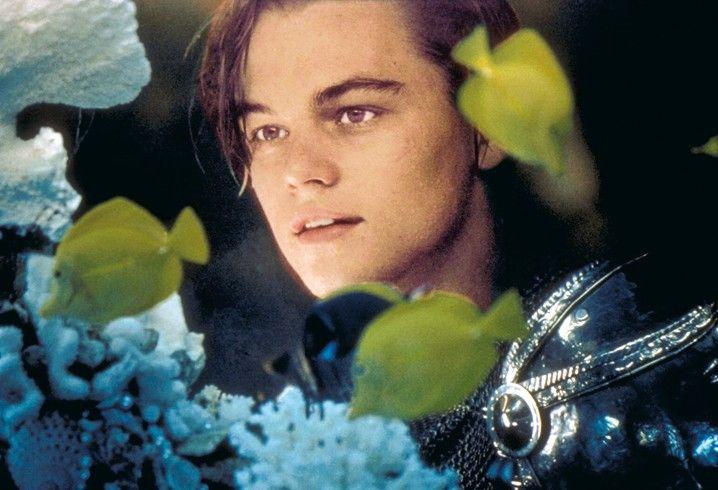 Da ist sie ja! Leonardo DiCaprio als Romeo