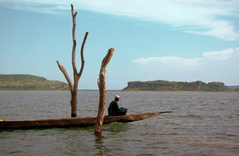 Hirten als Fischer am Turkana-See in Kenia - das Projekt ist gescheitert