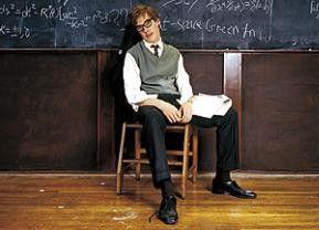 Benedict Cumberbatch in der Rolle des Stephen Hawking