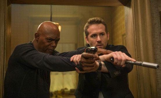 Früher war Darius Kincaid (Samuel L. Jackson, links) der größte Feind von Leibwächter Michael Bryce (Ryan Reynolds), inzwischen ist er sein Klient.