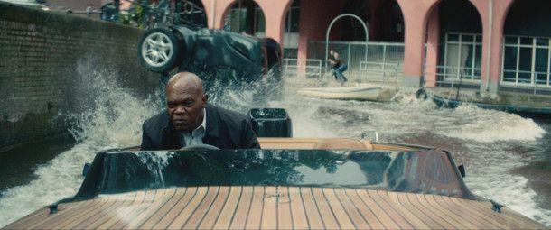 Das Motorboot hingegen wird für Kincaid (Samuel L. Jackson) zum Lieblingsgefährt.