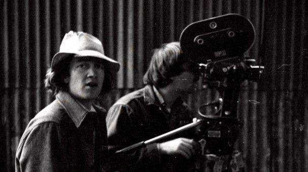 """1977 drehte David Lynch (links) seinen ersten Spielfilm """"Eraserhead""""."""